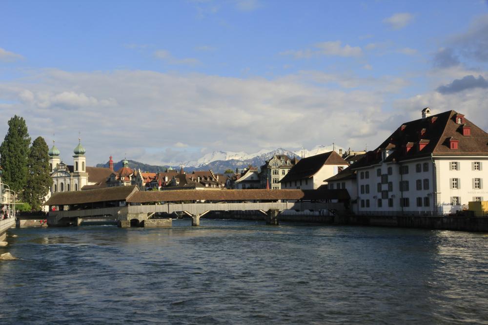 Luzern: Nicht Kappell-, sondern Spreuerbrücke