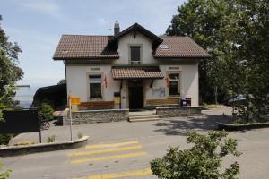 Die Bergstation der Funiculaire in Magglingen