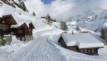Die Lauchernalp im Winter