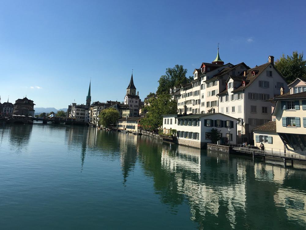 Zürich bei der Schipfe