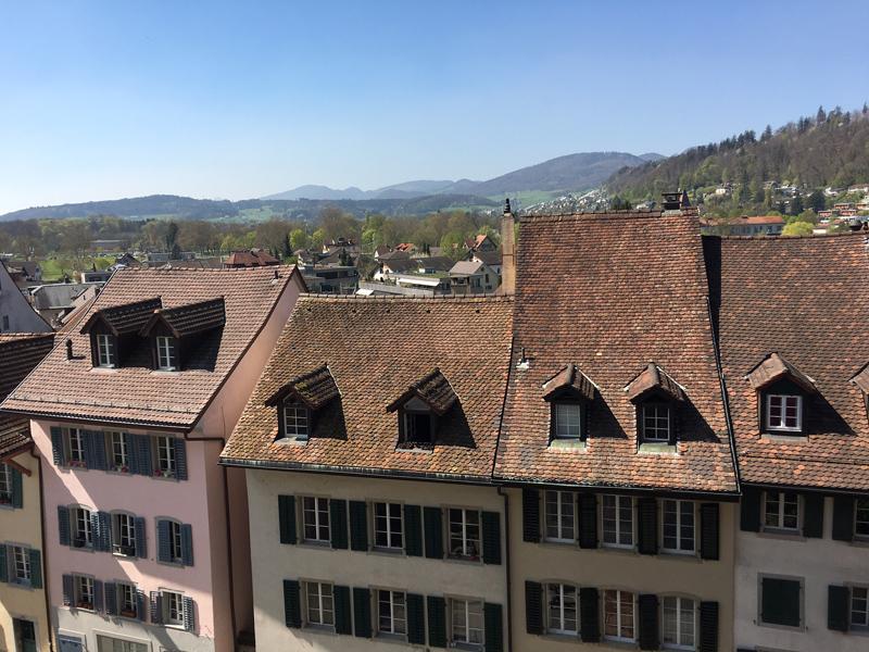 Über den Dächern von Aarau