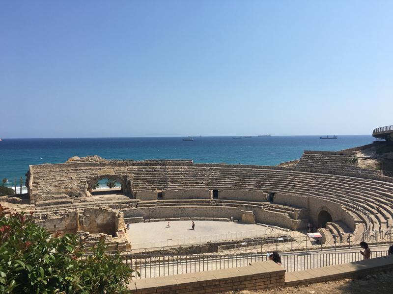 Das Amphitheater in Tarragona