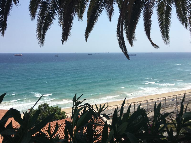 Strand und Meer gleich neben dem mediteranen Balkon in Tarragona