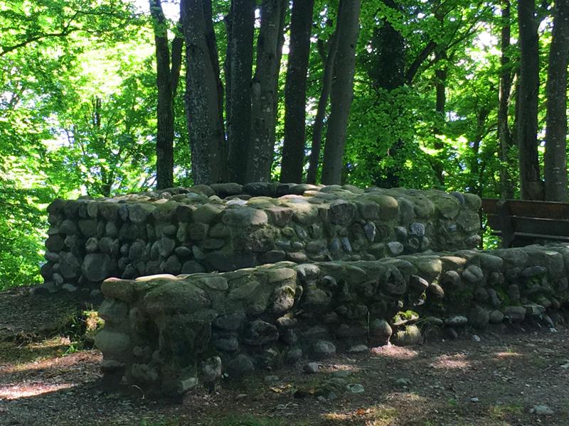 Um die Ruine der Schnabelburg ranken sich viele Geschichten