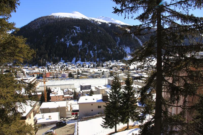 Das Eisfeld in Davos