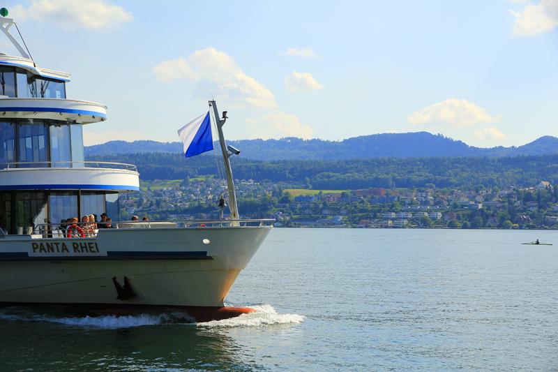 Ankunft am Zürichsee