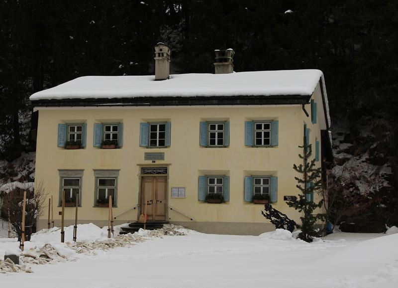 Nietzsche-Haus in Sils Maria