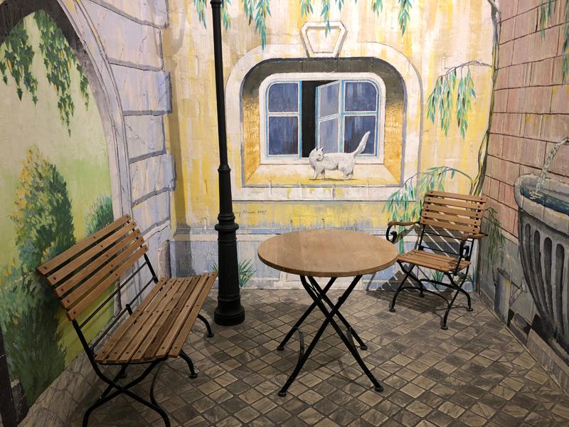 Eine schöne Ecke im Hotel Adler am Hirschenplatz