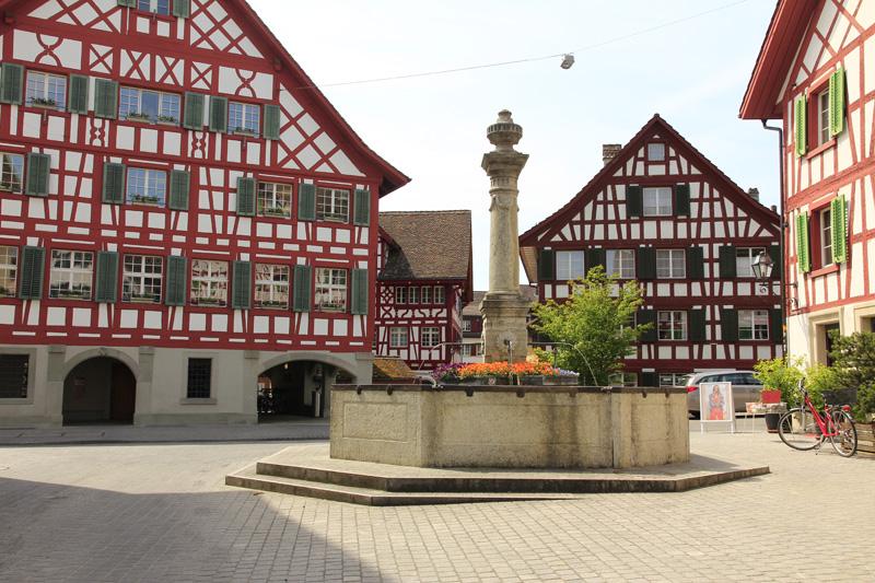 In der Altstadt von Bülach
