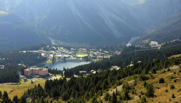 Der Obersee in Arosa
